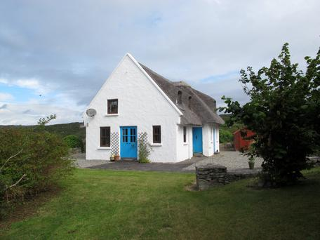 The Ferns is a modern cottage built in the Irish vernacular style.