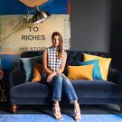 Wendy H Gilmour based her interiors look on shows from London Fashion Week