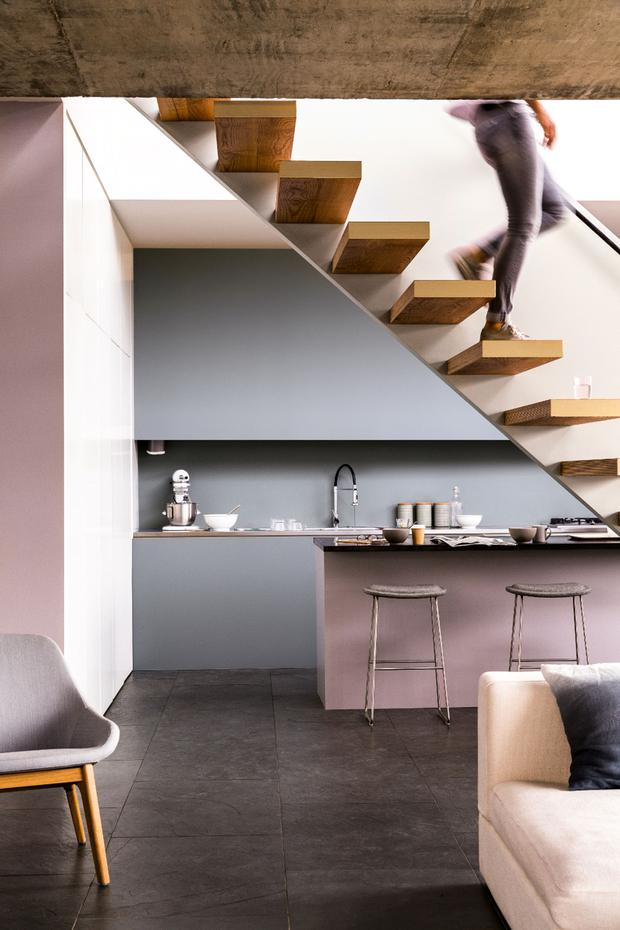 Dulux pinks are less sweet and their blues more gutsy.