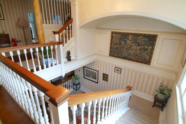 The grand staircase.