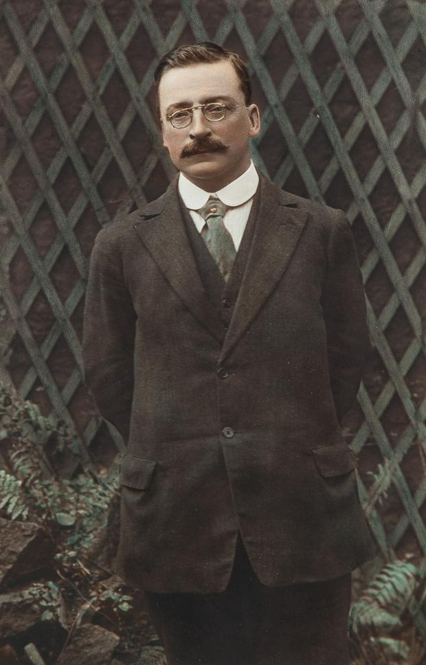 Photograph of Arthur Griffith from 1922.