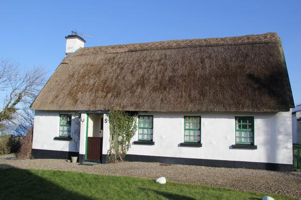 No 5 Holiday Cottages is a 20-year-old thatched cottage, traditional inside and out.