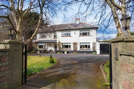 Brockagh House has five bedrooms and extends to 2,748 sq ft with room for expansion.