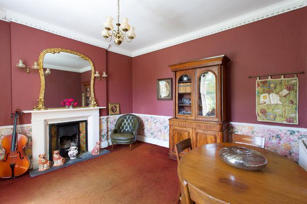 The dining room of the property in Killiney.