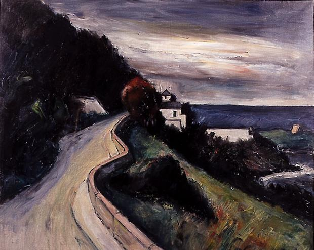 A painting from one of Peter Collis's famous 'Vico Road' series.