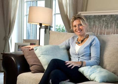 Artist and interior designer Elaine Tomlin.