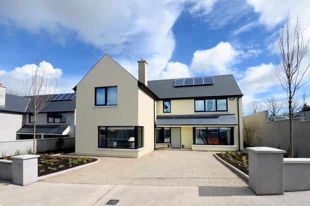 Cluain Mara in Cork come with underfloor heating,an A2 rating and a wood burning stove.