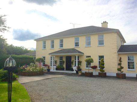 Kilmurray House sits on 0.9 of an acre which includes a fruit and vegetable garden.