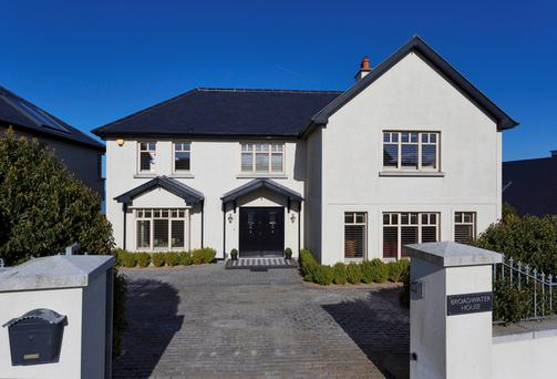 Broadwater House is situated on an elevated site with spectacular views of the Irish Sea.