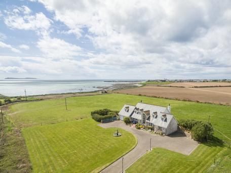 Swallow House is on six acres of flat land right on the Wexford coastline.
