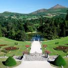 The gardens at Powerscourt Estate in Co Wicklow