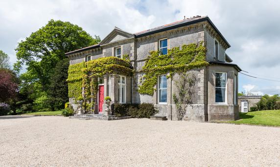 Ardglass House includes a basement long sealed-up and ready for a new owner to explore.