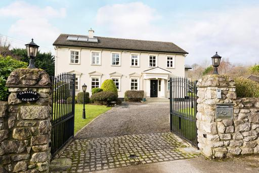 At 3,670 sq ft, Carlisle Lodge is somewhat of a castle in its own right.