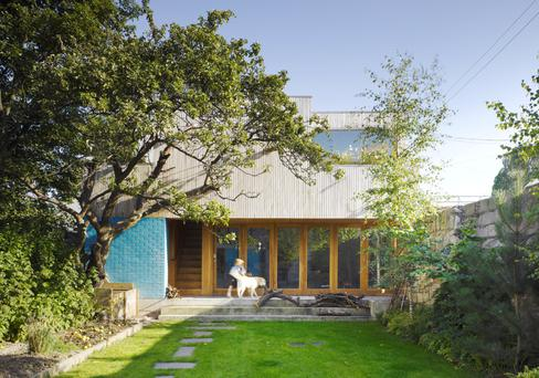 The owners of a Ranelagh Victorian house asked Donaghy + Dimond to design a separate garden room that would give a sense of connection between the house and garden. Photo: Ros Kavanagh