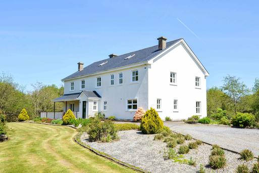 Built in 2003, Drimneen House has 4,166 sq ft of accommodation, including five bedrooms