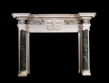 Chesterfield House marble chimney piece