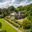 Ardnacarrig House with its grand proportions and groomed gardens is every bit the period property.