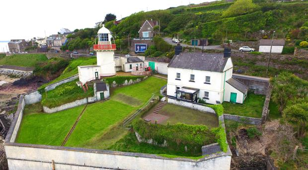 The Light Keeper's House at Youghal commands views over the bay.