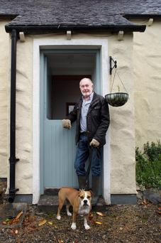 Gerg Jones at his property Knockadreet, Ashford, Co Wicklow. Photos by Tony Gavin