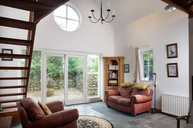 The second living room of the Wicklow cottage