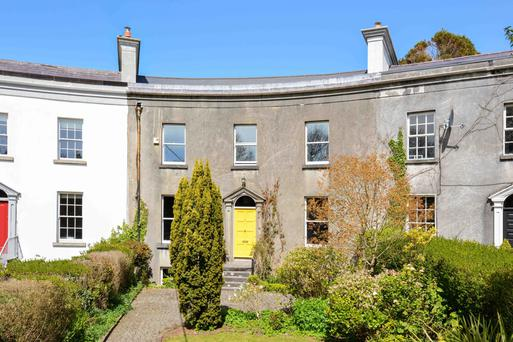 Number 7 is one of the oldest, and the only slightly curved house, in The Crescent, Galway.