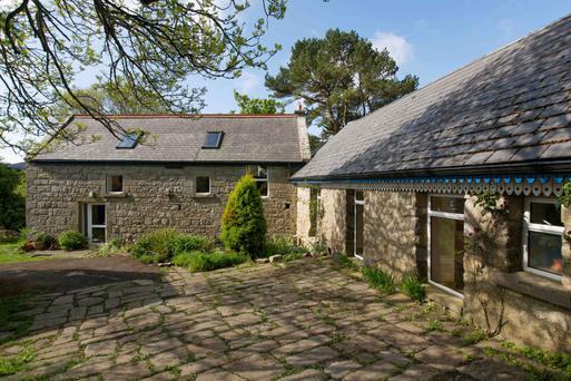 Granite Lodge has been restored and made bigger by incorporating various outbuildings.