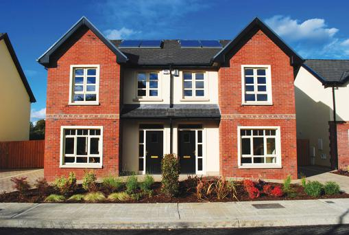 The three-bed semis at Cois Glaisin