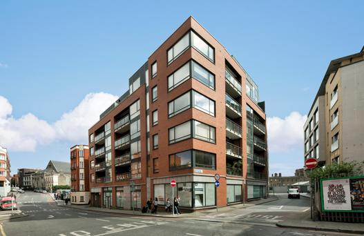 25 Chancery Court on Bride Street, Christchurch, in Dublin 8 is a two-bedroom apartment on the market for €340,000