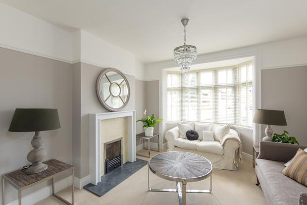 The inter linking sitting room