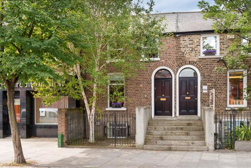 The house at 3 Irishtown Road is set over three levels and has three bedrooms