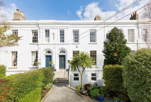 No15 Prince Edward Terrace has retained its Victorian features