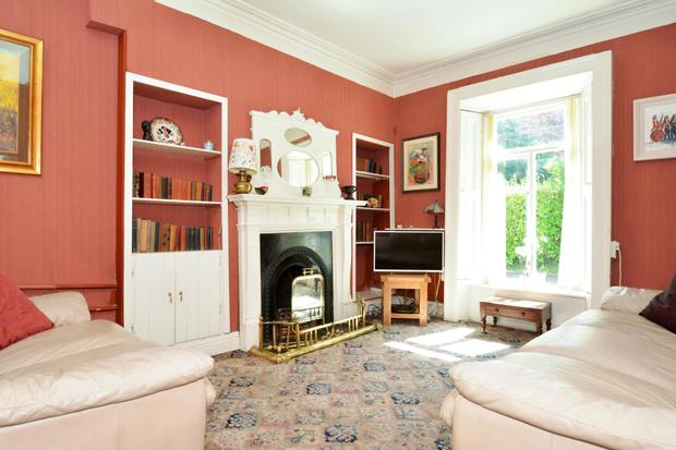 The sitting room could be used as a guest bedroom