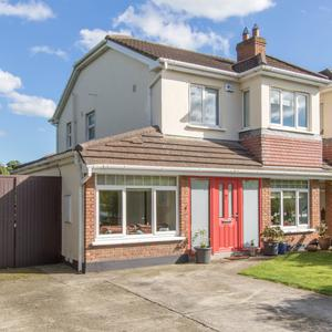 This semi-detached home at 16 Talbot Park is 1,449 sq ft and includes three bedrooms