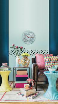 A colourful interior from TK Maxx
