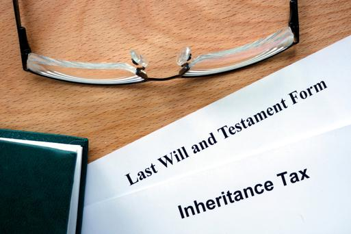 Inheritance tax on €245,000 would be €80,850