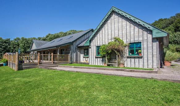 Cladagh, near Clashmore, has a huge half-covered deck, ideal for relaxing outdoors