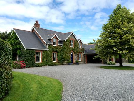 Brenagh Lodge was built in 1996 but has many period-style features outside