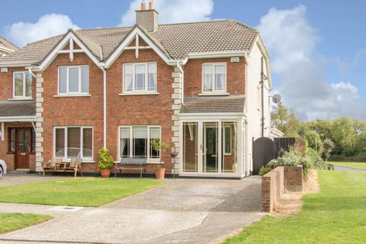 This semi-detached house was extended in 2011 to 1,835 sq ft and has four bedrooms