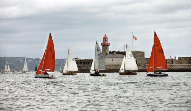 View of Dun Laoghaire harbour