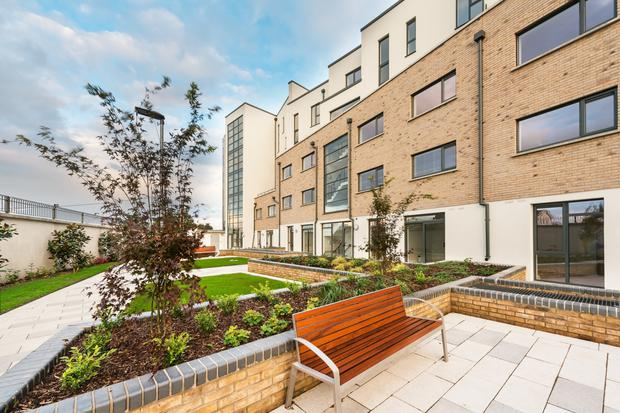 External areas have been landscaped