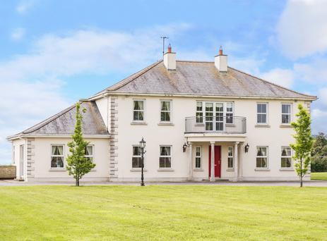 The exterior of Damastown in The Naul which features 310 sq metres of living space