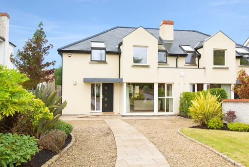 Wilmslow in Sandycove is a four-bed semi on the market for €1.175m