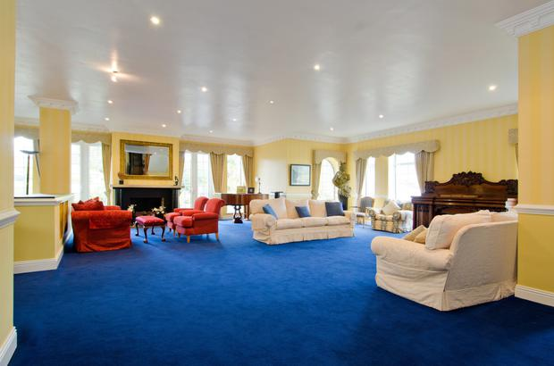 The main reception room, ideal for entertaining guests