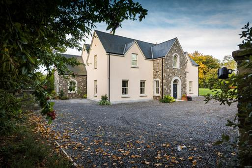 The four-bedroom Hattonwood was built in 2009 on a half-acre site mostly laid in lawn