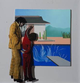 Ballagh's 'Two People And A David Hockney'