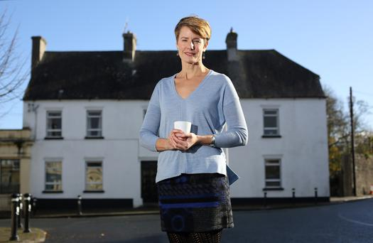 Megan McGrath from the Middle Country Cafe at Cloughjordan Community Coop. Photo: Frank McGrath
