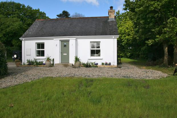 The cottage was recently restored by Carmel Patterson, a woman local to the area