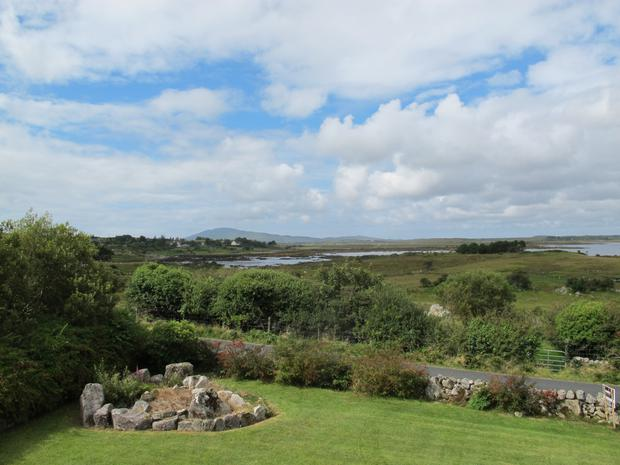 Views from the cottage over Cloonisle bay