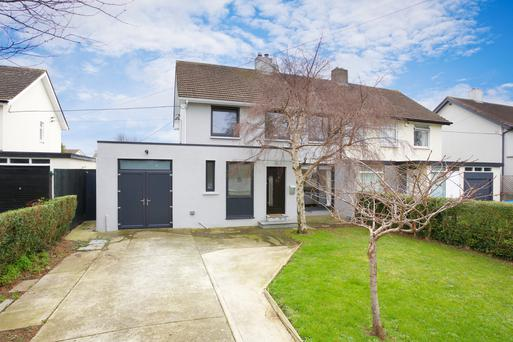 This semi-detached house has been significantly extended, brightened and warmed up