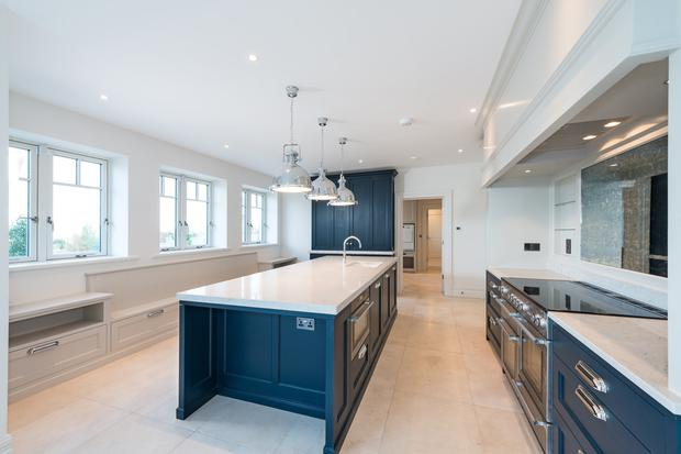 The Newcastle-fitted kitchen